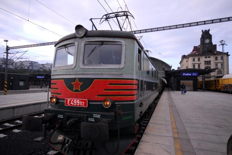 Trem Praga - Hof