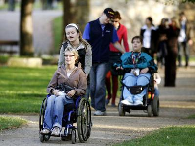 Rights of the physically impaired