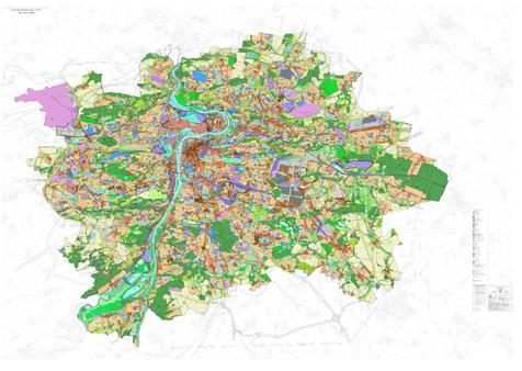 Územní plán města prahy