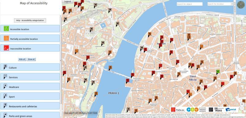 Praha Spustila Anglickou Verzi Mapy Pristupnosti Portal Hlavniho
