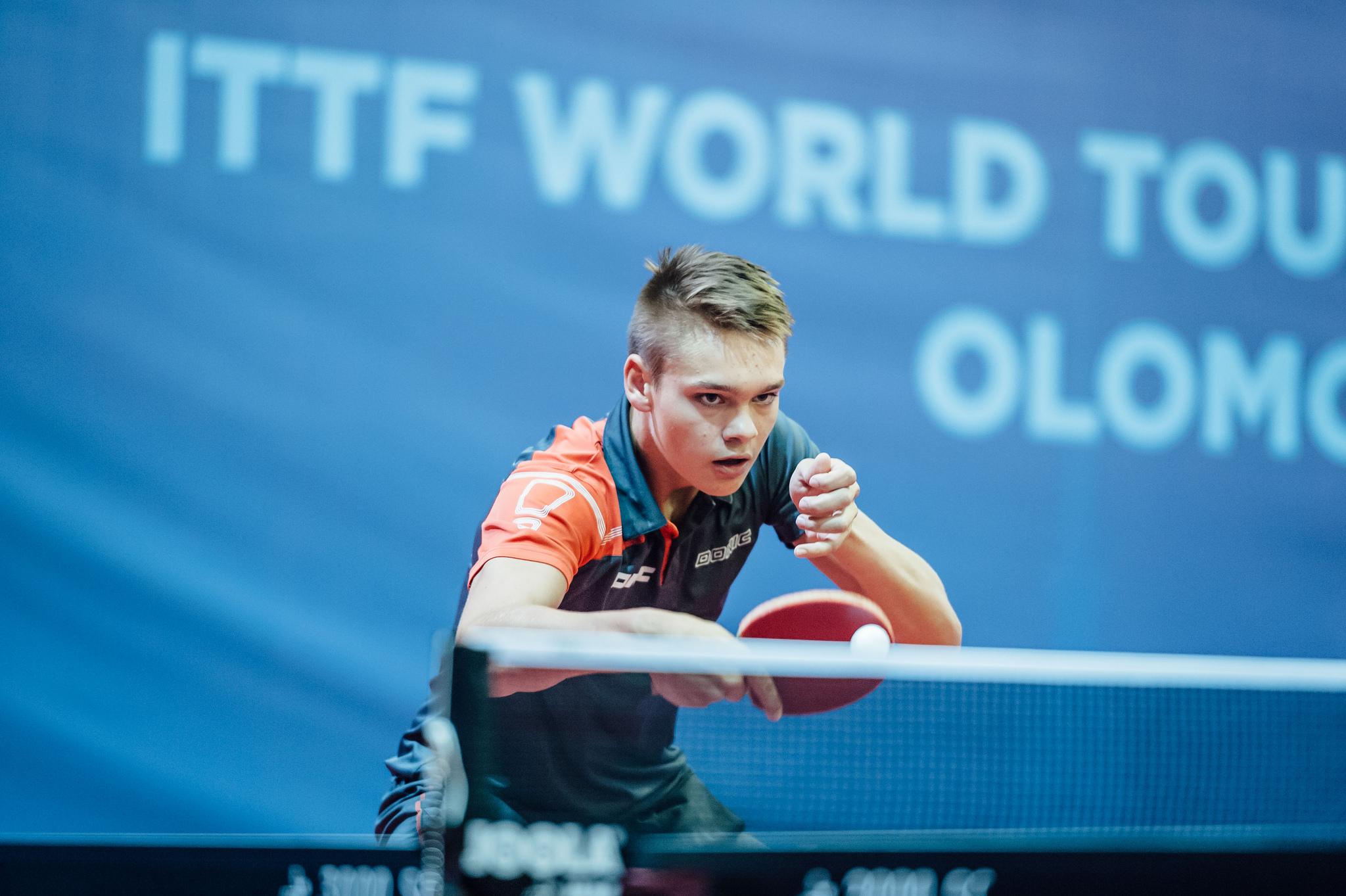Praha hostí vrcholný turnaj juniorů ve stolním tenise – kadet Jan Valenta. Foto: www.ping-pong.cz