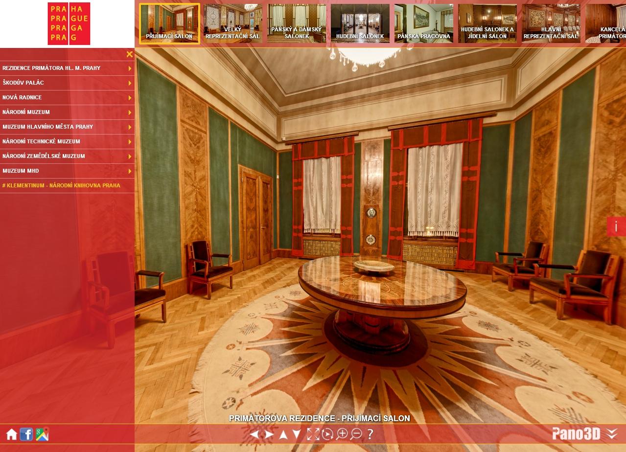 Virtuální 3D prohlídka